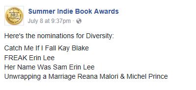 SIBA nomination diverse 2017