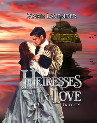 Heiresses in Love Trilogy cover