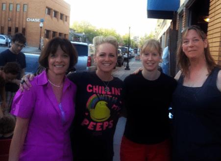 What a WANA Coincidence! (Susie Lindau, Moi, Julie Hedlund, Piper Bayard)