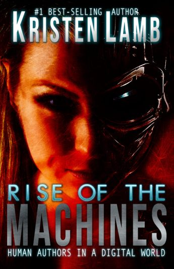I wrote this book to help writers…but mostly so I cloud finally be a CYBORG.