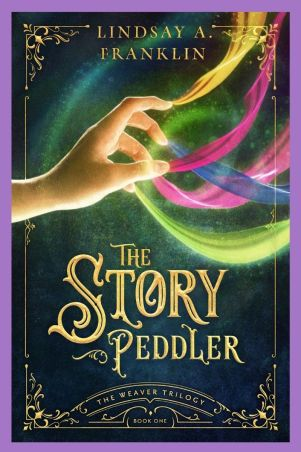 Book cover The Story Peddler