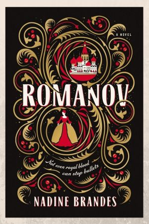 Book cover of Romanov by Nadine Brandes
