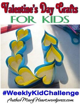 Valentine's Day heart craft for kids!