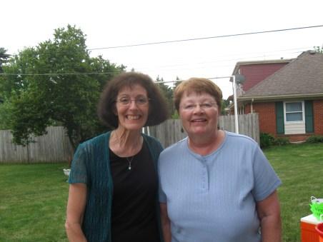 Joyce and Cathy