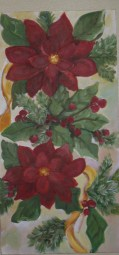 Poinsetta panel