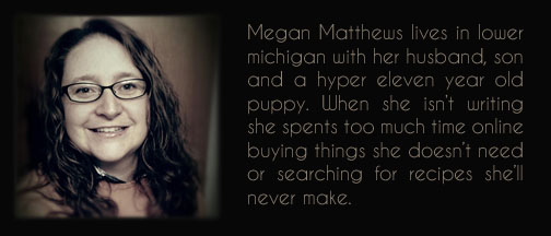 About author - Megan Matthews