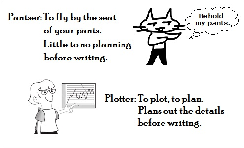 pantsers vs plotters