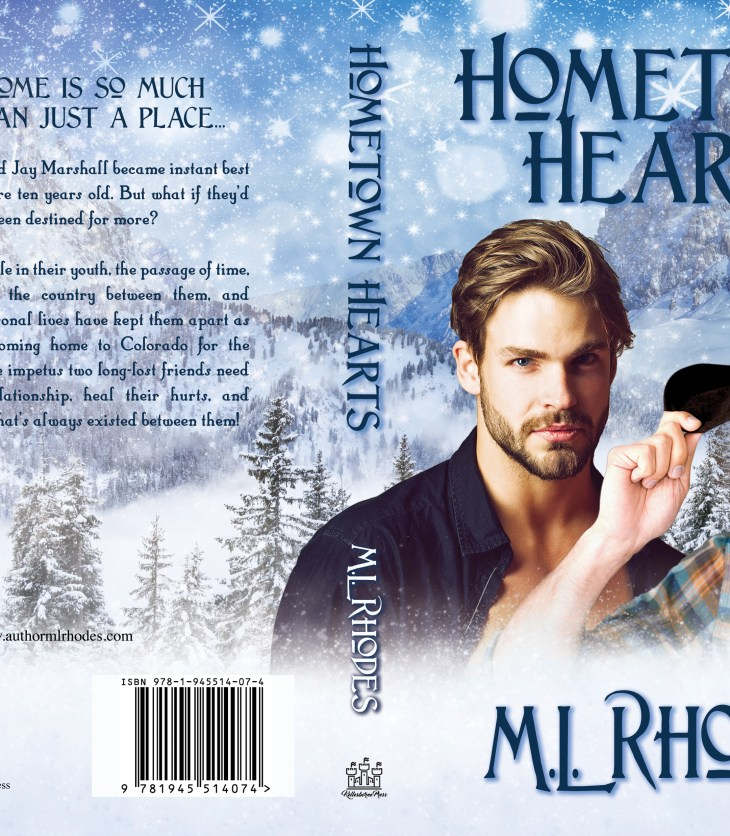 Hometown Hearts paperback cover flat
