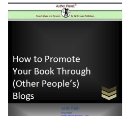 How to Promote Your Book on Other People's Blogs