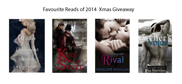 Fav reads giveaway