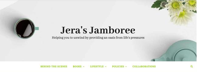 masthead book blog jera's jamboree