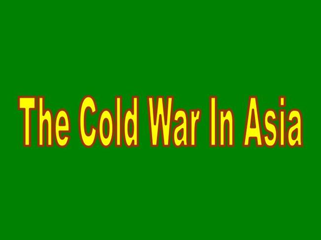 Cold War in Asia |authorSTREAM
