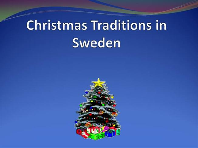 Christmas Traditions In Sweden AuthorSTREAM