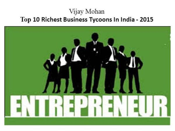 Top 10 Richest Business Tycoons in India - |authorSTREAM