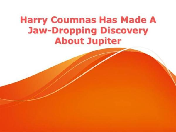 Harry Coumnas Has Made a Jaw-Dropping Discovery about ...