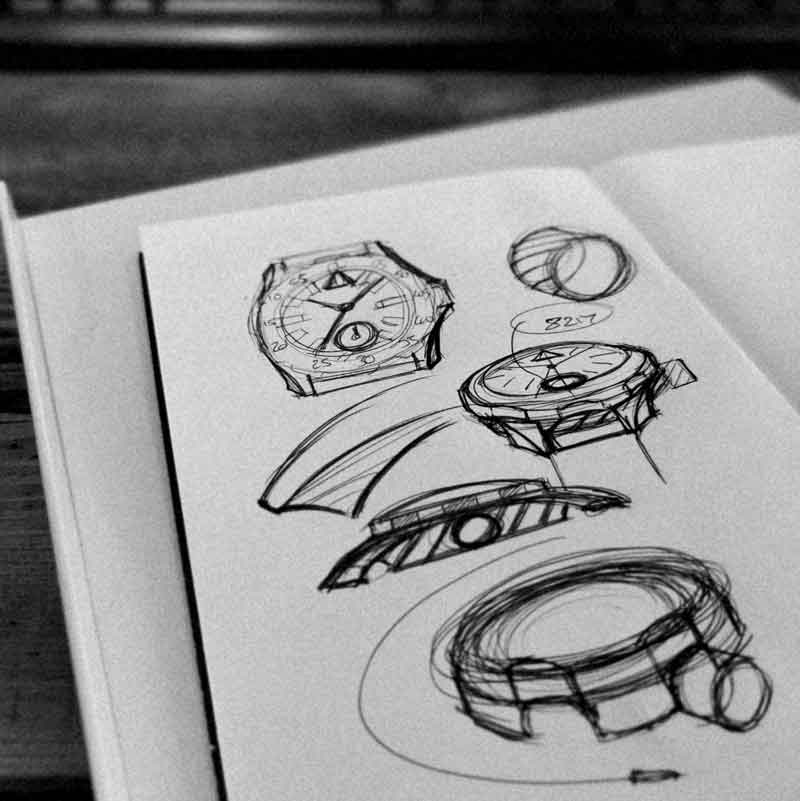 marketing campaign for product launch wt author studios sketches