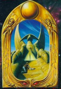 Great Sci-Fi Novels - Hyperion - Sphinx Time Tomb