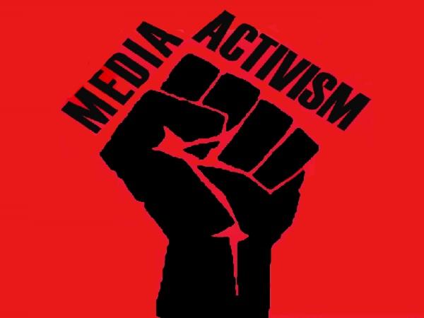 news media activism