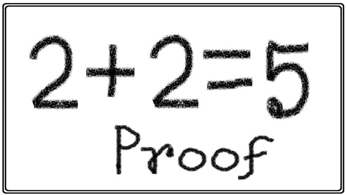 2+2=5 epistemic disunity Wittgenstein Piaget