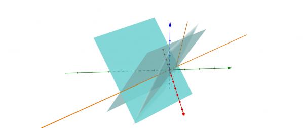 physics and math vector linear algebra