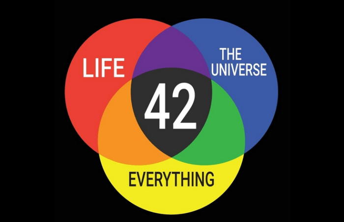 meaning of life 42 hitchhiker's guide to the galaxy