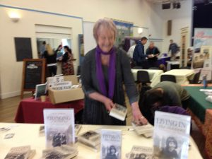 I was looking forward to catching up with Judith Barrow although we were both very busy!