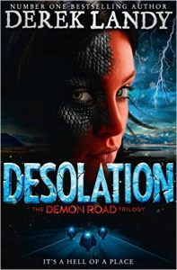 The Demon Road 2. Desolation by Derek Landy