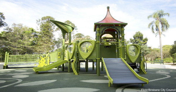 playground and autism