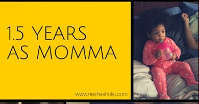 1.5 years as momma
