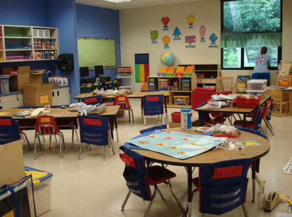 classroom for students with autism