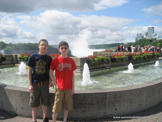 Five Activities at Niagara Falls for Families with Autism kids