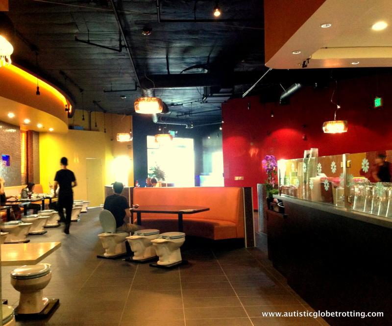 Magic Restroom Cafe:Restraunt Cool Decor