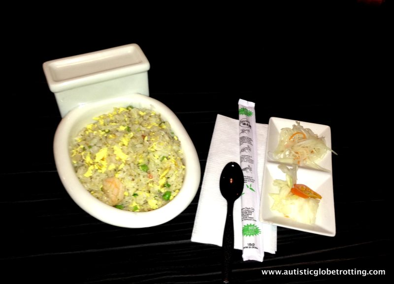 Magic Restroom Cafe:Is That Fried Rice In The Toilet?
