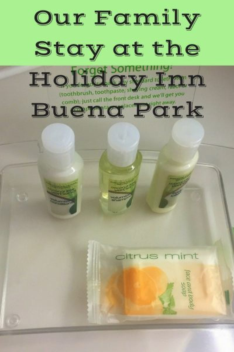 Our Family Stay at the Holiday Inn Buena Park pin