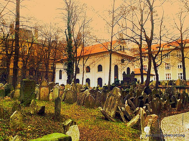 Taking Your Kids with Autism to Prague graves