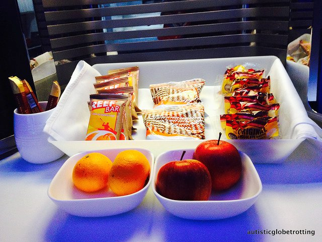Business Class on Air New Zealand is Luxury Defined snack