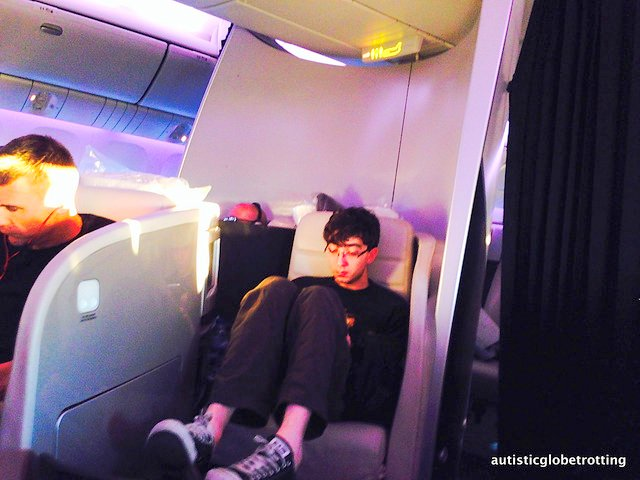Business Class on Air New Zealand is Luxury Defined seat