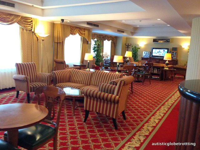Review of The JW Marriott Bucharest Executive Lounge room