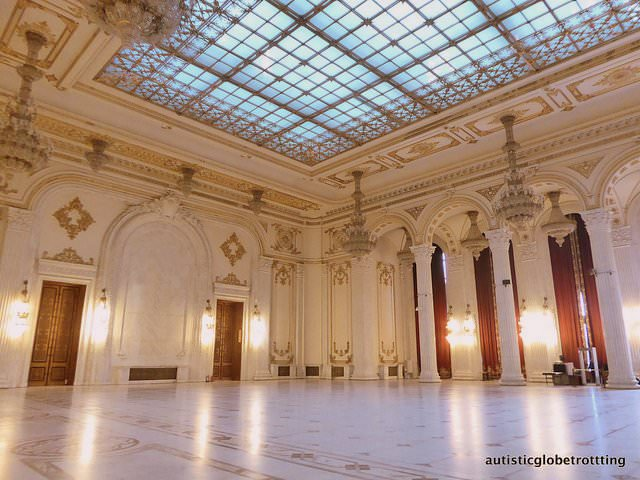 Visiting Bucharest –Our Top Autism Travel Spots grand hall