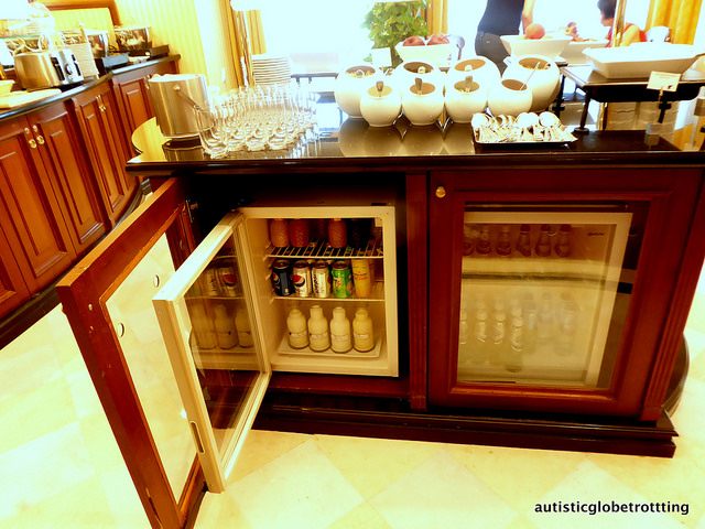 Review of The JW Marriott Bucharest Executive Lounge drinks
