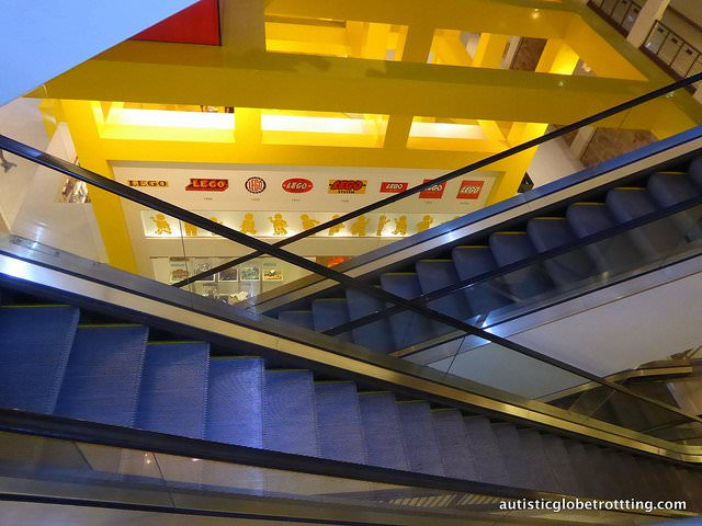 Taking your kids with Autism to the Mall of America lego