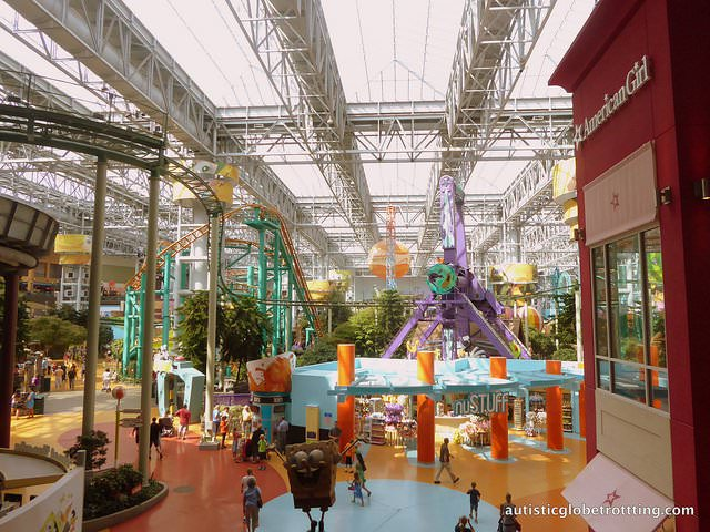 Taking your kids with Autism to the Mall of America themepark