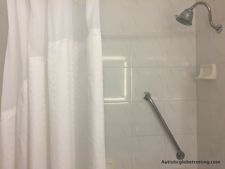Our Family Stay at the Holiday Inn Buena Park shower