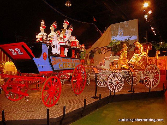Family Fun at Baraboo's Circus World Museum wagon