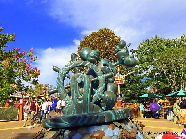 Navigating Universal Studios Orlando with Autism park