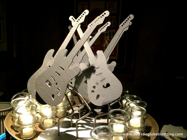 Orlando Hard Rock Café's Behind the Scenes Tour guitar