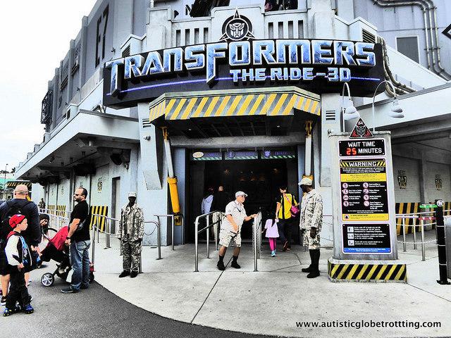 Navigating Universal Studios Orlando with Autism show