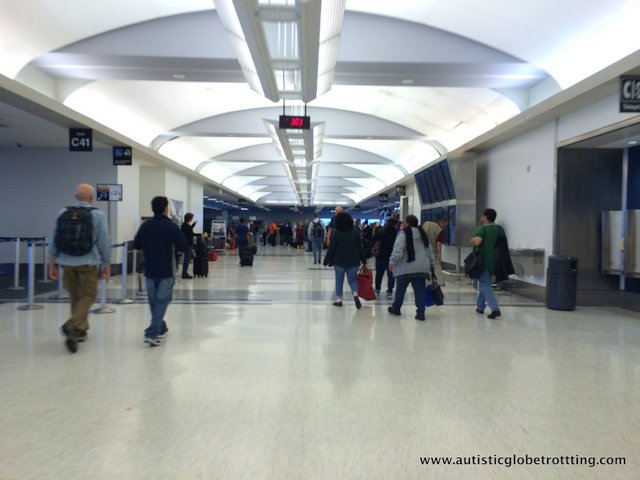 Pros and Cons of Wheelchair Assistance When Traveling With Autism hall