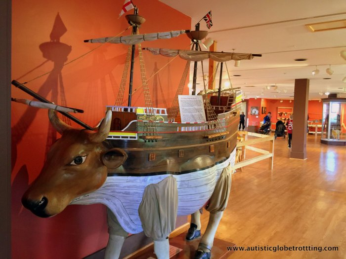 Taking Kids with Autism to Plymouth Massachusetts ship