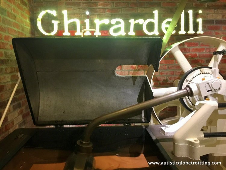 City Sightseeing with San Francisco's Hop On Hop Off Bus ghiardelli